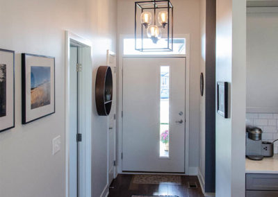 Schneider Custom Homes entryway to home