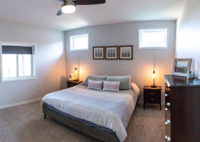 Schneider Custom Homes master bedroom layout